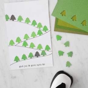 новогодняя открытка своими руками фото 009