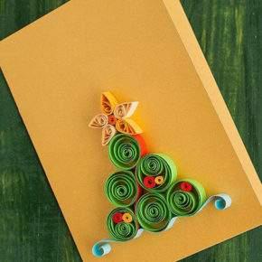 новогодние открытки своими руками фото 016