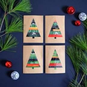 новогодние открытки своими руками фото 019