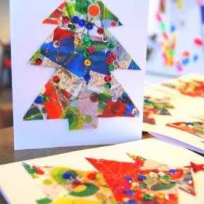 новогодние открытки своими руками фото 020