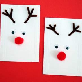 новогодние открытки своими руками с детьми фото 034