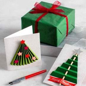 объемные новогодние открытки своими руками фото 037