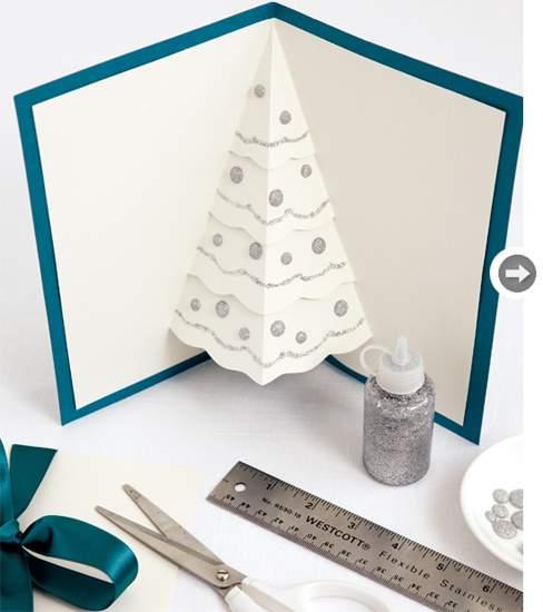 объемные новогодние открытки своими руками фото 042