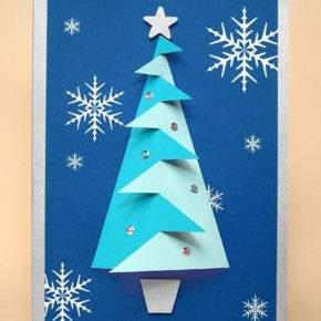 объемные новогодние открытки своими руками фото 043