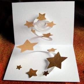 объемные новогодние открытки своими руками фото 047