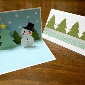 объемные новогодние открытки своими руками фото 049