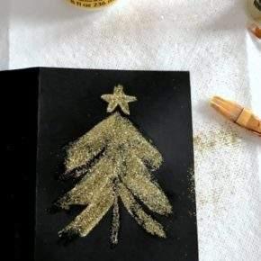 как сделать новогоднюю открытку фото 059