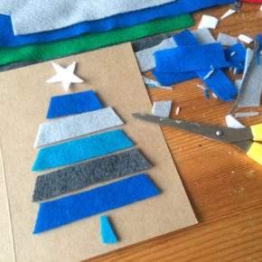 как сделать новогоднюю открытку фото 070