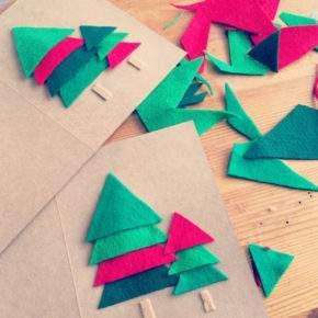 как сделать новогоднюю открытку фото 071