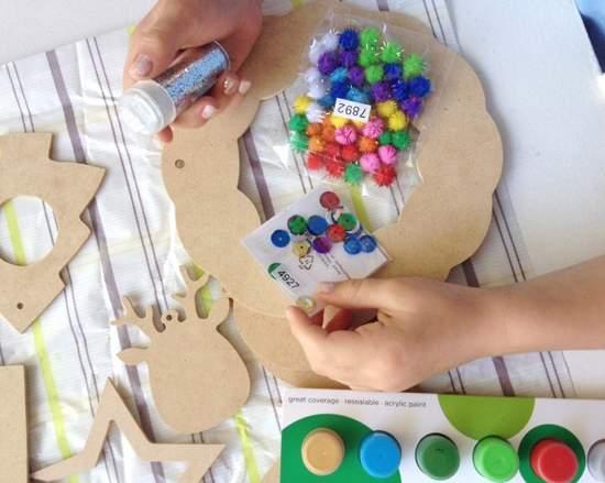 новогодние поделки для детей фото 35