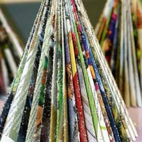 поделки к новому году елка фото 007