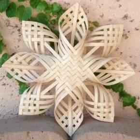 новогодние поделки снежинка фото 040