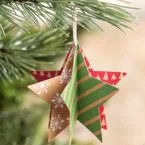 новогодний декор из бумаги своими руками фото 036