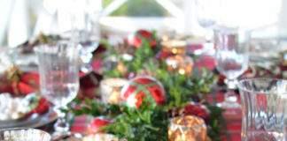 как украсить новогодний стол фото 11