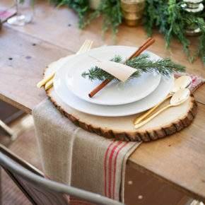 украшение новогоднего стола фото 31
