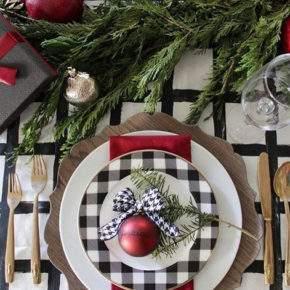 украшение новогоднего стола фото 35