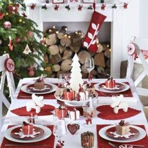 украшение новогоднего стола фото 37