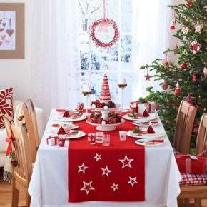 украшение новогоднего стола фото 38