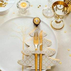 украшение новогоднего стола фото 43