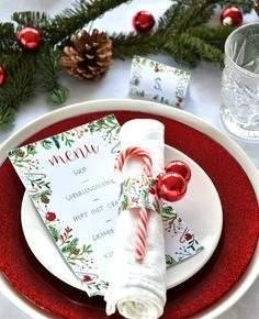 украшение новогоднего стола фото 49