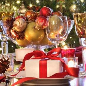 новогодний стол фото 86