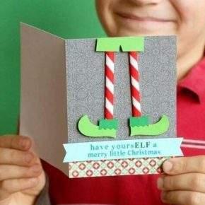 новогодняя открытка своими руками фото 102