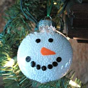 новогодние поделки снеговик фото 02