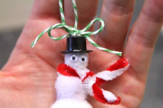 новогодние поделки снеговик фото 47
