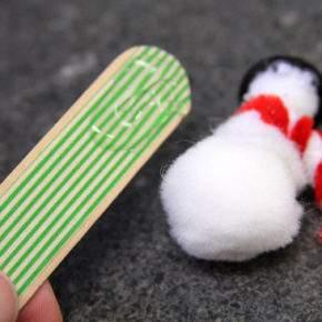 новогодние поделки снеговик фото 49