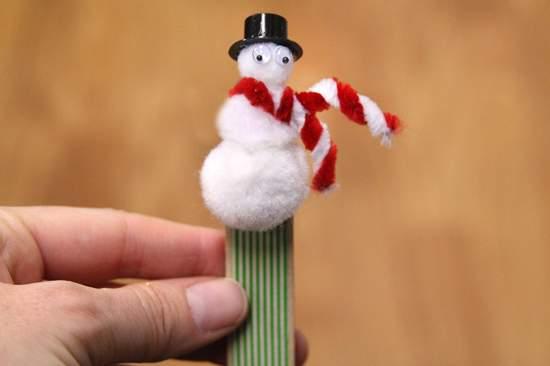 новогодние поделки снеговик фото 50