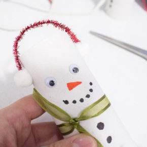 новогодние поделки снеговик фото 58