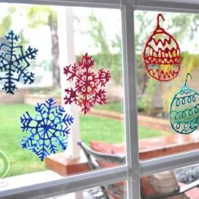 новогодние поделки снежинки фото 76