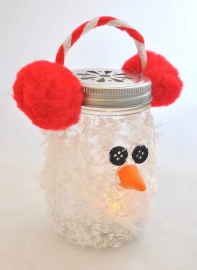 новогодние поделки снеговик фото 77