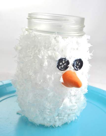 новогодние поделки снеговик фото 81