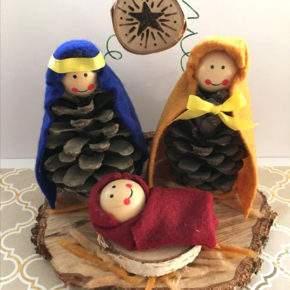 поделки на рождество фото 33