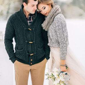 свадебная фотосессия зимой фото 01