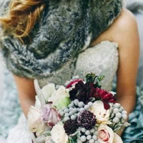 свадебная фотосессия зимой фото 02