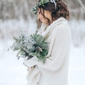 свадебная фотосессия зимой фото 06