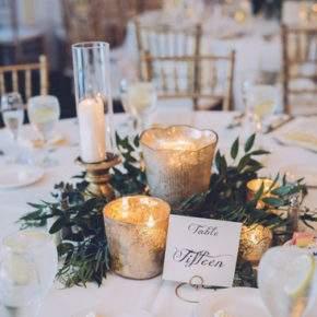 зимнее оформление свадьбы фото 12