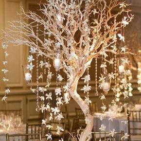 зимнее оформление свадьбы фото 15