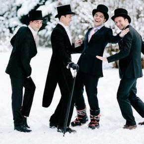 что одеть на свадьбу зимой фото 23