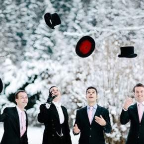 что одеть на свадьбу зимой фото 24