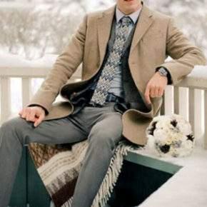 что одеть на свадьбу зимой фото 25