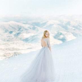 платье на свадьбу зимой фото 31