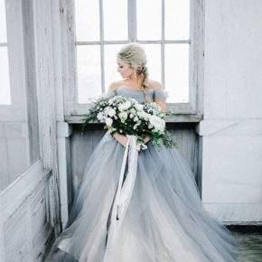 платье на свадьбу зимой фото 32
