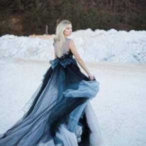 платье на свадьбу зимой фото 34