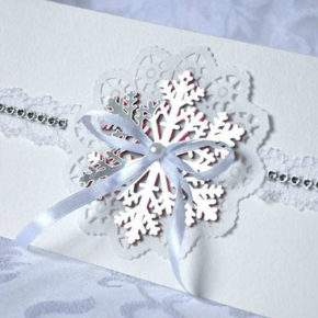 зимняя свадьба декор фото 41
