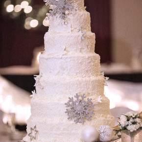 зимняя свадьба торт фото 43
