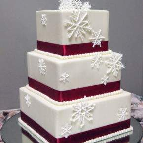 зимняя свадьба торт фото 44