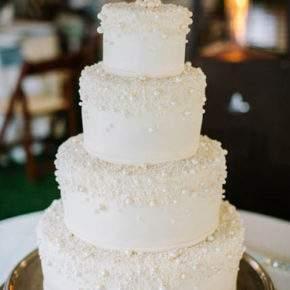 зимняя свадьба торт фото 45